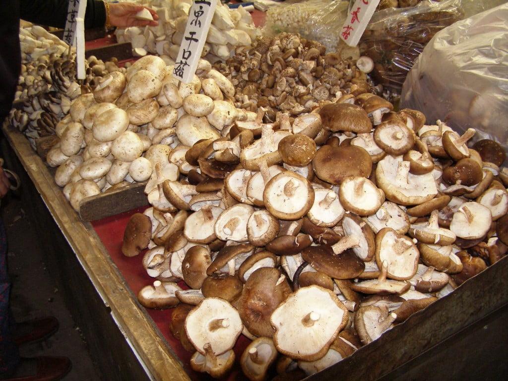 Peking Markt Pilze