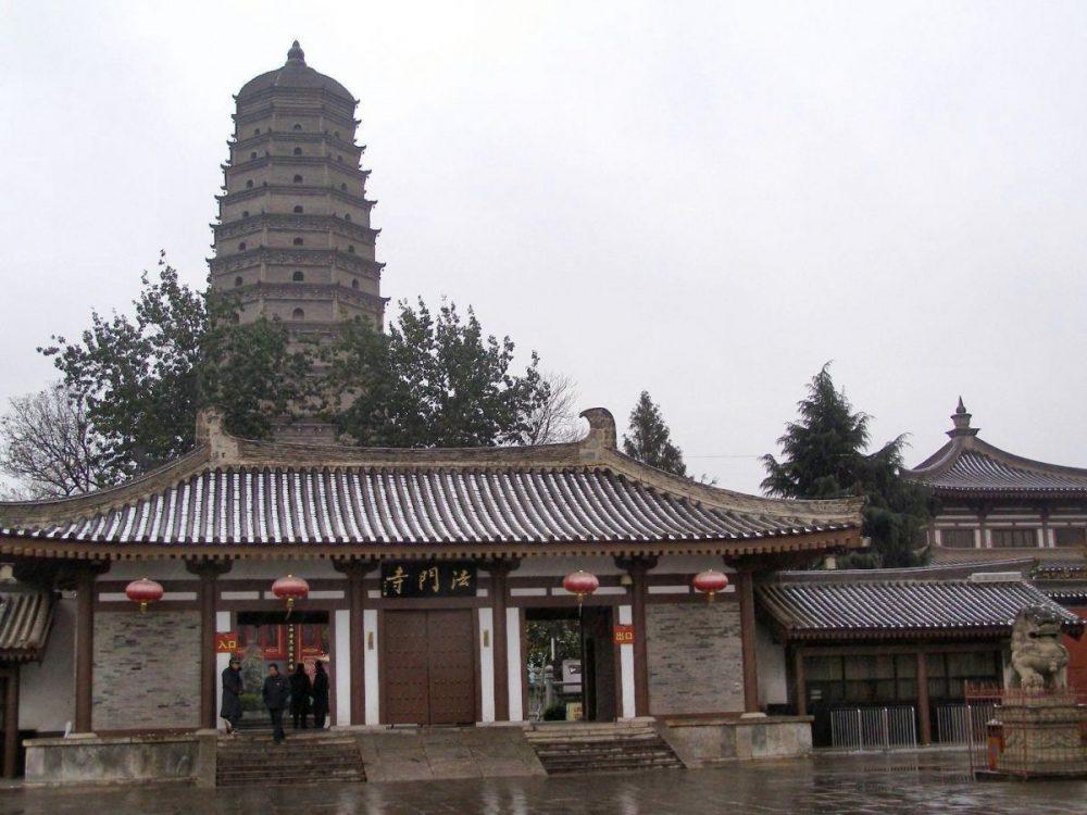 Xi'an: Der alte Famen Tempel