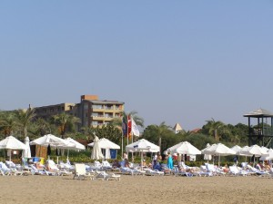 Strandurlaub in Side, Türkei