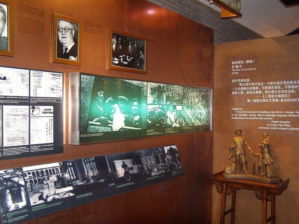 Jewish Refugees Museum Ausstellung: Juden in Shanghai