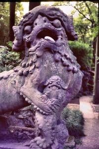 Ningbo - im Park der Bibliothek