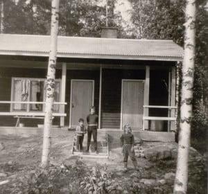 Ferienhaus in Finnland 1964