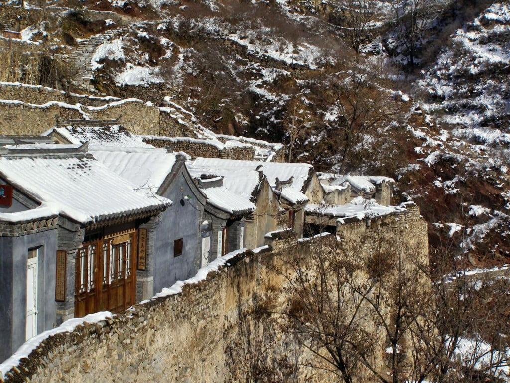 Cuandixia Dorf am Abhang