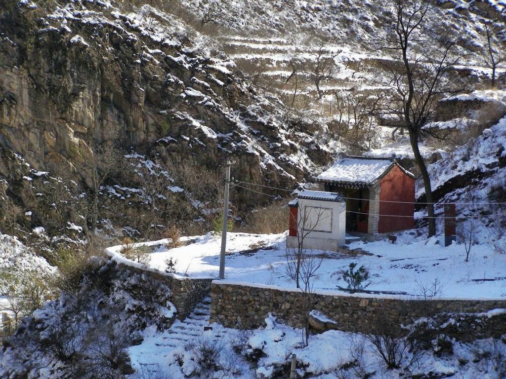 Cuandixia kleiner Tempel