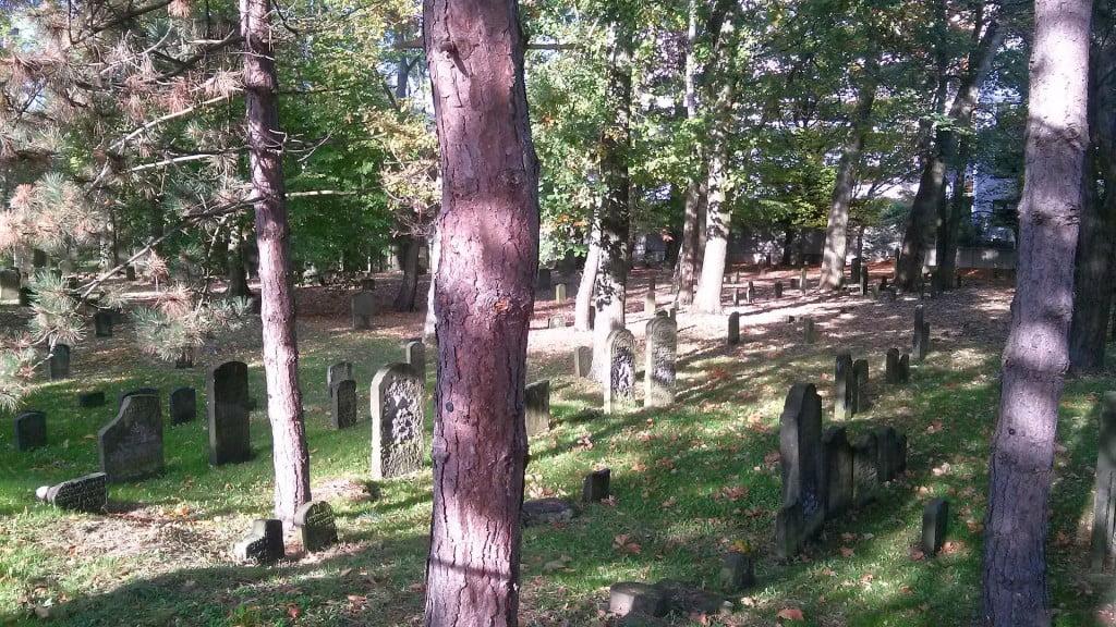 Jüdischer Friedhof an der Königsreihe in Wandsbek