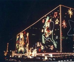 Weihnachtsdekoration 1991