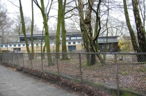 Die Schule an der Weddestraße dient auch im Winter 2014/15 als Erfrierungsschutz