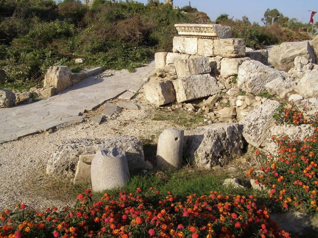 Überall Reste aus der Antike in Side