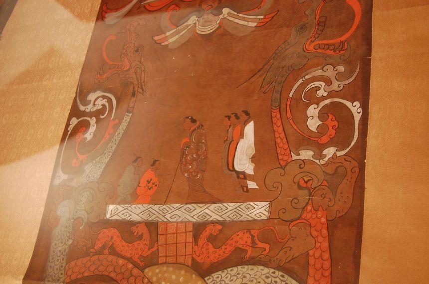Mawangdui: Bemaltes Seidenbanner