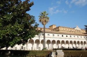 Alter Klosterkreuzgang in den Diokletians-Thermen