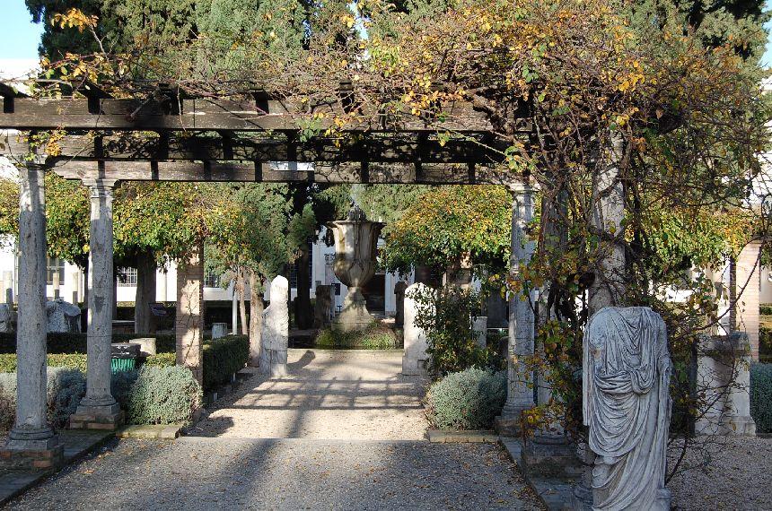 Diokletiansthermen Garten