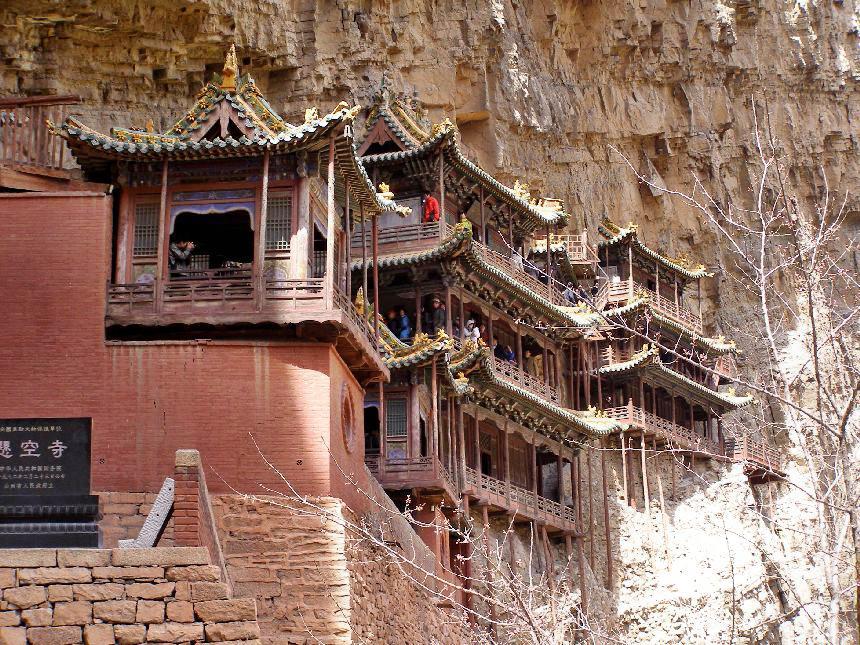 Hängendes Kloster bei Datong