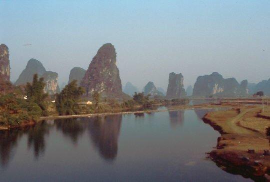 Li-Fluss im Sonnenschein 1993
