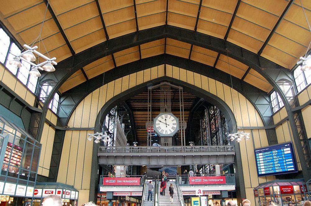 Hamburg Hauptbahnhof - Wandelhalle