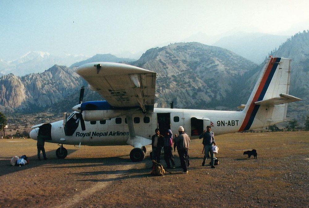 Das kleine Flugzeug