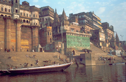 Varanasi - am Ganges - Indien