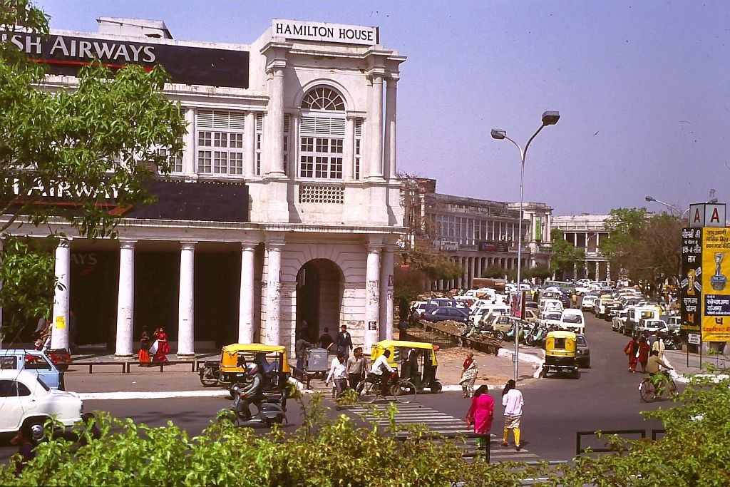 New Delhi Connaught Place 1992