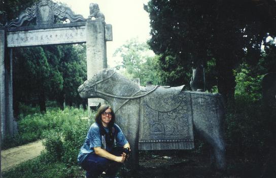 Im Friedhofswald der Familie Kong
