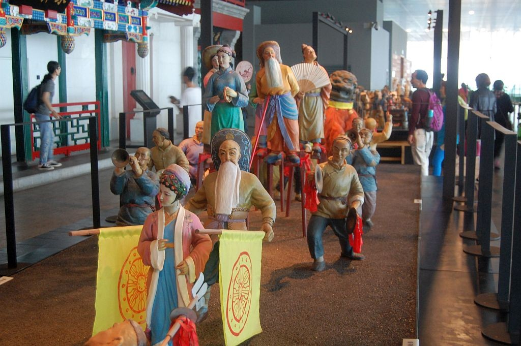 Folklore-Ausstellung im Capital Museum