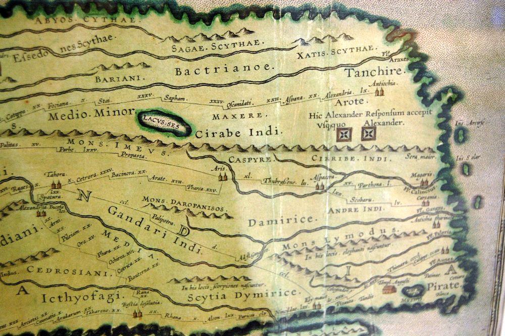 Kopie der Tabula Peuteringiana -
