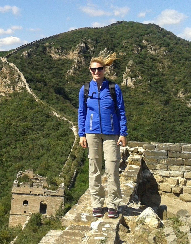 Auf der Chinesischen Mauer