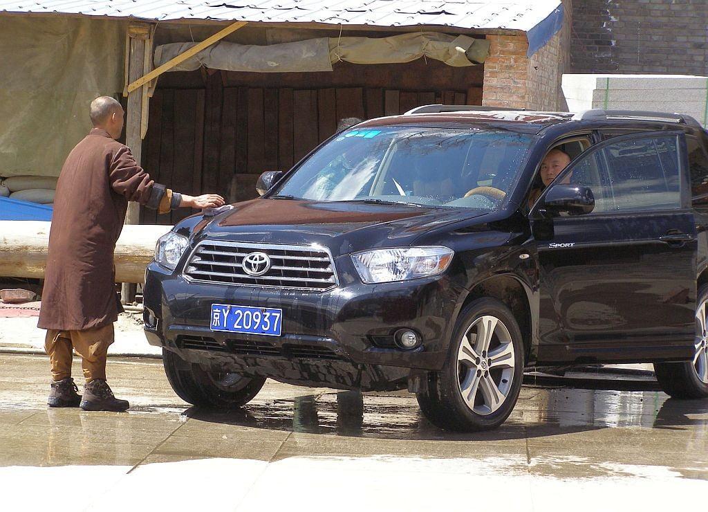 On Wutai Shan China