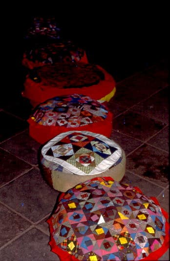 Im Wenshu-Tempel Chengdu 1987