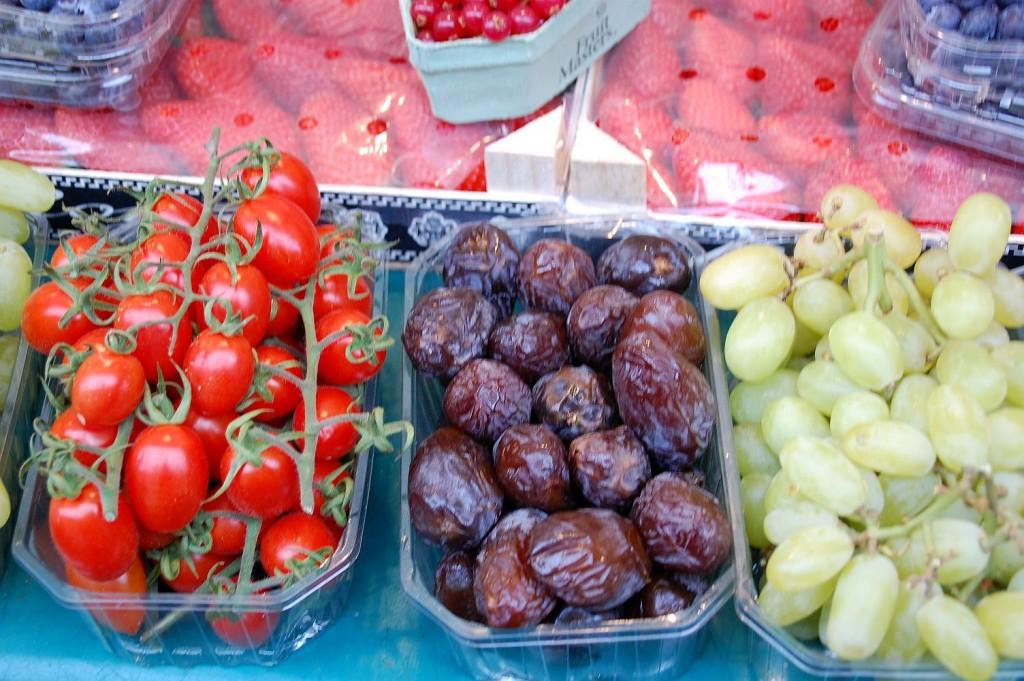 Einfaceh Früchte, wie sie auf magentratzerl gerne verwendet werden