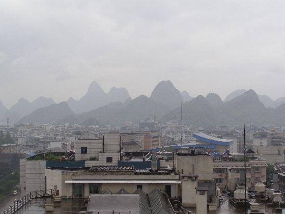Guilin 2011: Vom Wetter her sehr ähnlich wie 1987