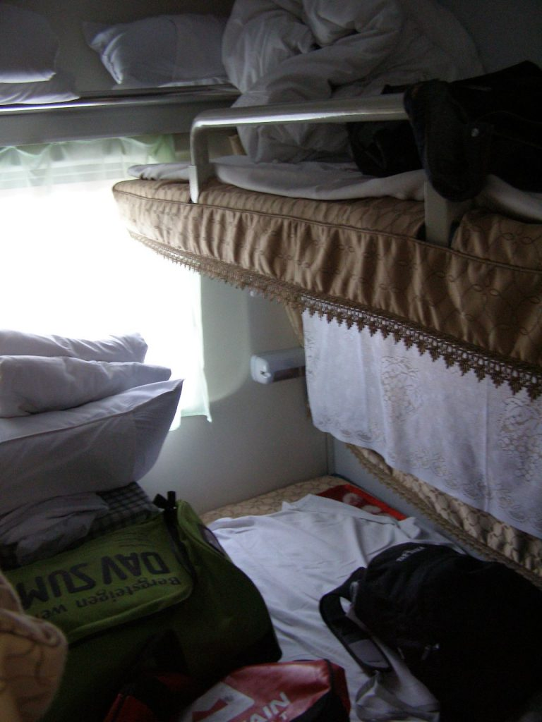 4-Bett-abteil Schlafwagen