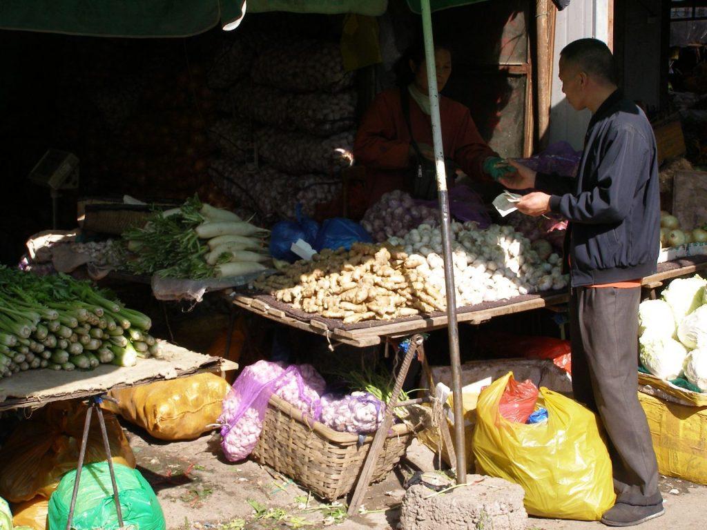Urumqi Auf dem Markt