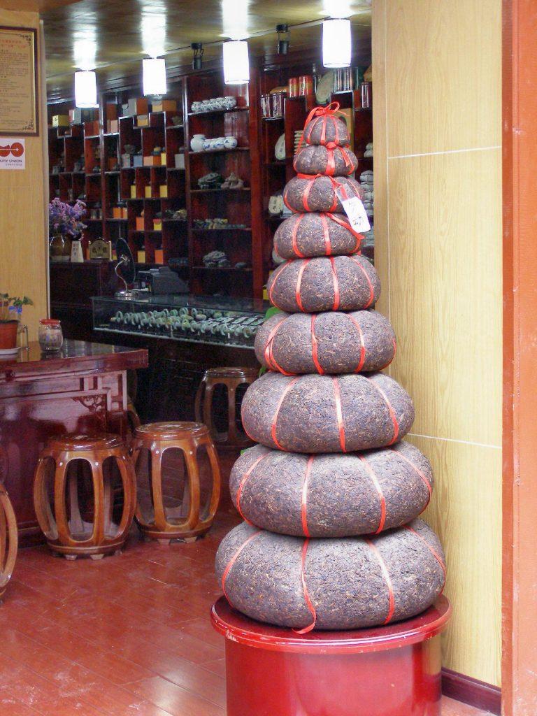 Teegeschäft in Lijiang