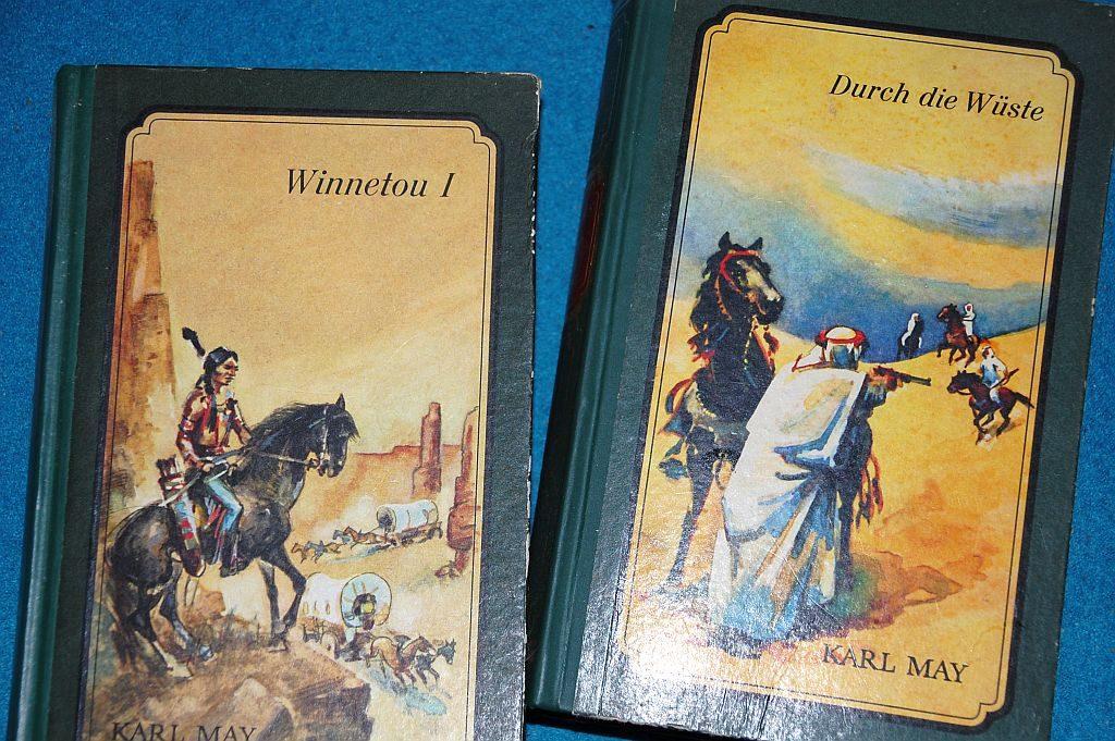 Karl May-Bücher: winnetou und durch die Wüste