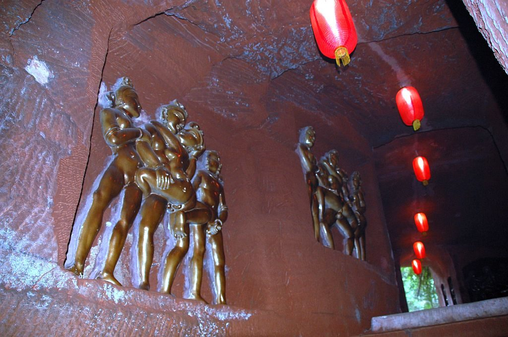 Relief aus Kajuraho