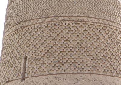 Das Emin Minarett in Turfan: Die kunstvollen Muster der Lehmziegel