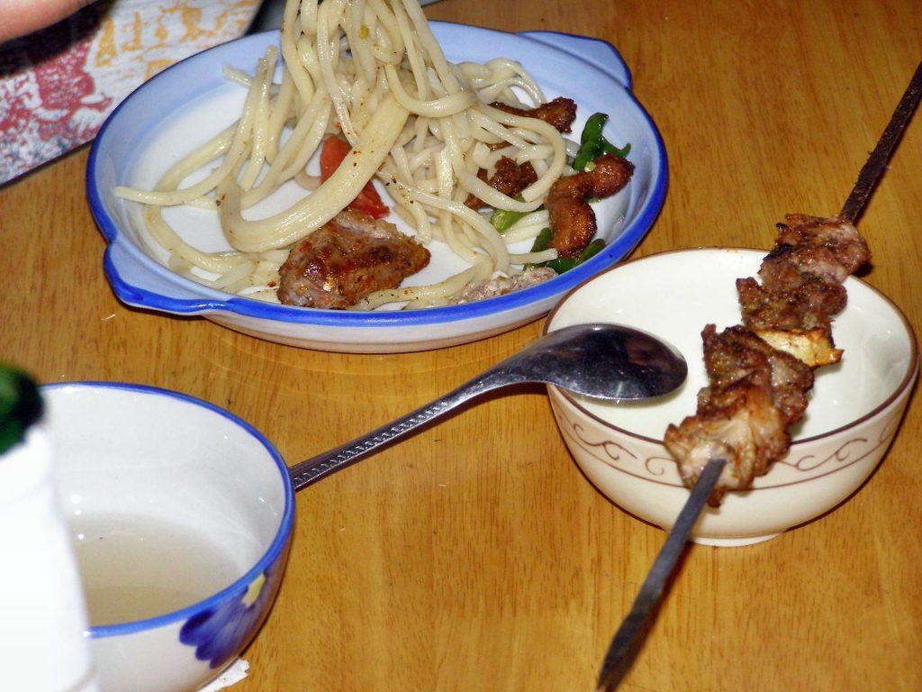 Leckeres Essen in Kucha