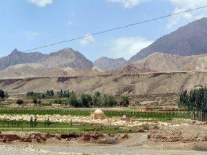 Landschaft am Tianshan