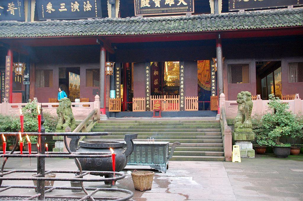 Baoguo Tempel Hof