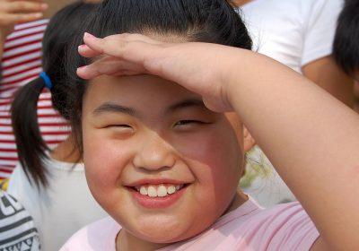 Ein großes Lächeln - Kind in Shanxi