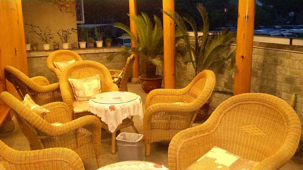 Teddy Bear Hotel - Terrasse