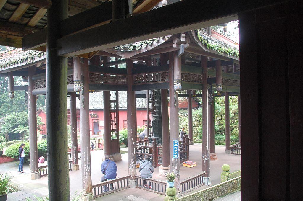 Bronzepagode Pavillon