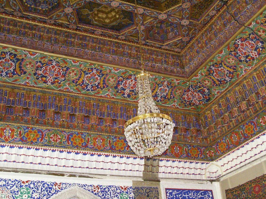 Im Palastd es Khan von Kokand, Usbekistan