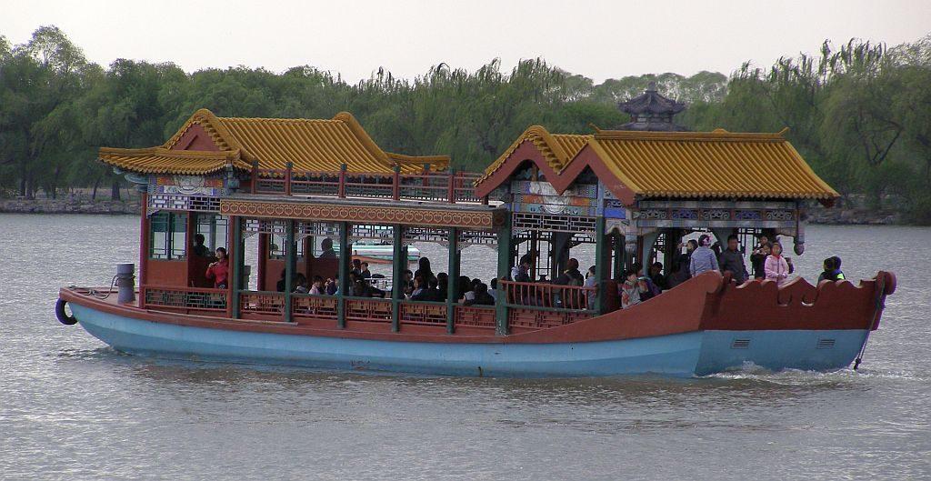Sommerpalast Asuflugsboote