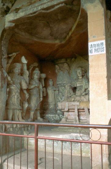 Buddhas von Dazu: Beishan
