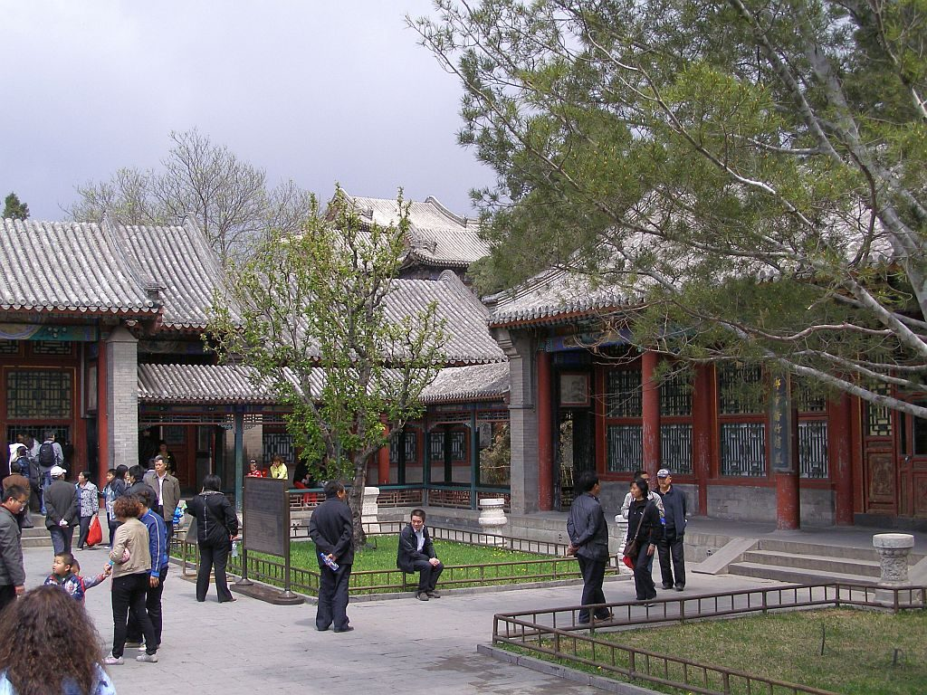 Kaiserlicher Wohnhof im Sommerpalast