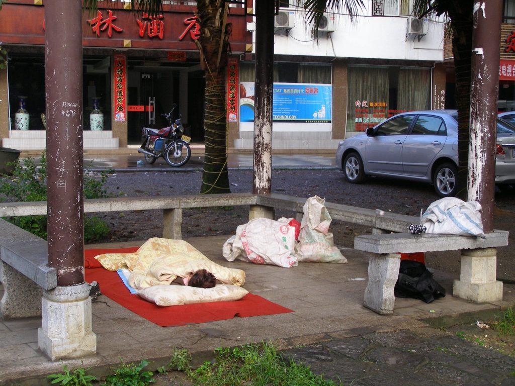 Armut in Yangshuo
