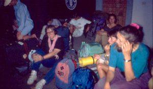 Ulrike als Backpacker 1992