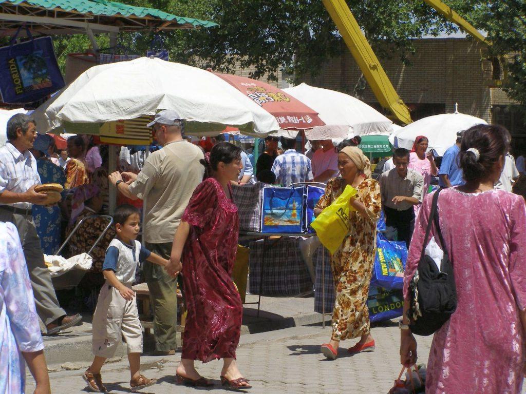 Samarkand Bazar Frauen