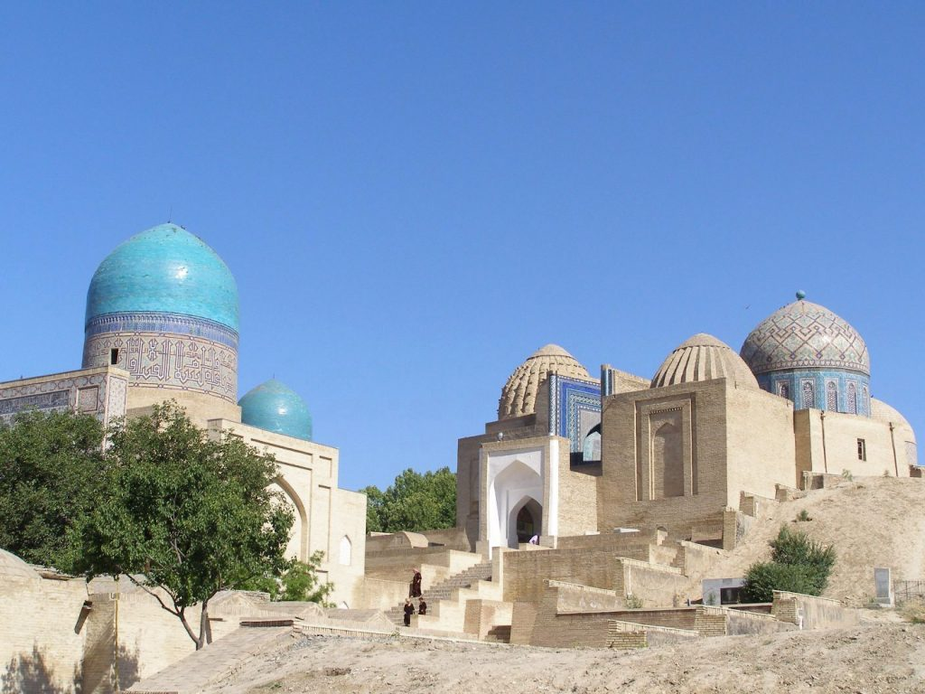 Schah-e Sende -Mausoleum Kusam ibn Abbas