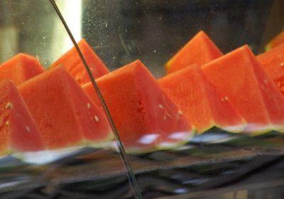 Melonen-Scheiben im Gondwanaland